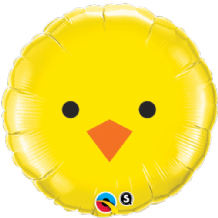 "Easter Baby Chick Foil Balloon (18"") 1pc"